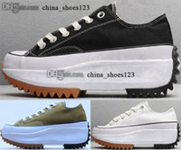 TAMAÑO EE. UU. Mujer EUR Run Star Hike Mens Casual 5 Taylor High Top 35 41 Zapatos JW Chuck Sneakers Trainers Anderson Skate 2020 Nuevo Llegada Chicas