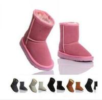 2020 New Real dell'Australia di alta qualità 5281 per bambini Bambini maschi Bambine femmine bambino caldo scarponi da neve adolescente studenti Neve stivali REGALO di natale G88