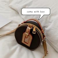 2021 여성 핸드백 지갑 디자이너 작은 둥근 어깨 가방 새로운 패션 레이디 크로스 바디 가방 미니 클래식 여성 가방