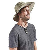 Cloches hombre pesca gorra sol boonie sombrero impermeable verano protección protección safari al aire libre hombres cubo tácticos sombreros ajustables