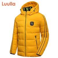 Luulla мужчины зима новая повседневная густая теплое водонепроницаемое пиджак с капюшоном Parkas пальто мужчины осень турнирные одежды парки куртки мужчины 201104