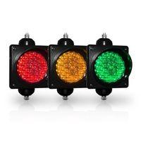Diametro del semaforo Diametro 100mm rosso giallo verde LED singolo