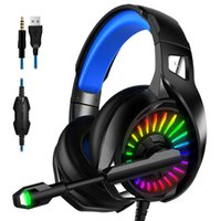 PS4 Gaming Headphones 4D Stereo RGB Marquee Earphones Headse...