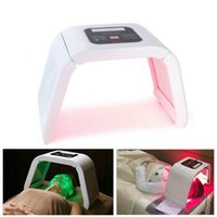 Pro 7 Renkler LED Foton Maskesi Işık Terapi PDT Lamba Güzellik Makinesi Arıtma Cilt Yüz Akne Sökücü Anti-kırışıklık Sıkın