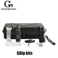 G9 greenlightvapes gdip kit cera dap caneta 1000mAh bateria e proteção contra superaquecimento com 2 dicas de pão w2 w3