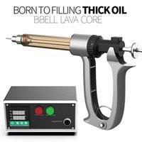ORIGINAL BBELL Lava Core Core Clean Filleur 25ml 50 ml Contrôle de la température pour les cartouches de Vape Pistolet d'injection semi automatique