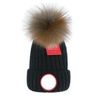 Mode Mützen Luxurys Caps Hip Hop Kanada Mütze Winter Warme Hut Gestrickte Wollhüte Für Frauen Männer Gorro Motorhaube Mützen Schädelkappen Großhandel