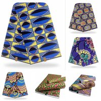 2021 NUEVO Tissu African Imprimir Tela de cera dorada Bloque Ankara Pagne con la superficie de la capa de línea de oro para coser vestidos de fiesta de boda