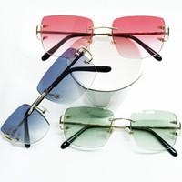 블루 카터 우드 호화로운 무리한 안경 남자 디자이너 선글라스 간단한 보그 남자 선글라스 여성 Tonal gafas de sol de disenador 2020