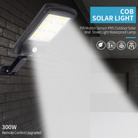 Powerful Remote Control Upgraded COB Solar Light PIR Motion ...