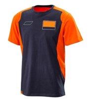 Motorrad T-shirt 2021 Sommer Casual Jacke Fabrik Team Version Kurzarm Rundhals Off-Road Radfahren Kleidung Atmungsaktiv