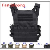 Tactical Vest Quick Combat Hunting Vest Molle Chest Rig Protective Plate Carrier Climbing Adjustable Combat Gear Vests Cca Wha2L