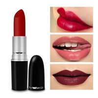 MYG Lips Makeup Bullet Matt Läppstift Långvarig Vattentät Näringsrika Lätt att bära med Retail Package Gör upp läppstift