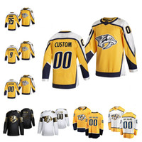 Nashville Predators 2021 Jersey de hockey rétro Retro Daniel Carr Dante Fabbro Mikael Granlund Yannick Weber Nick Bonino Customé
