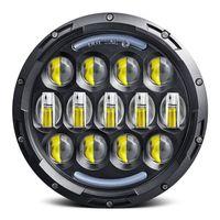 ilumina Nueva promoción de la lámpara auto del coche de 7 pulgadas LED Daymaker Se adapta a la luz del proyector de la linterna LED DRL de conducción para Sportster