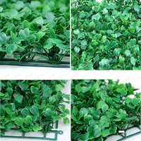 """زهور الزهور الزخرفية 10 """"شكل مربع تشفير الاصطناعي البلاستيك العشب حصيرة محاكاة النبات وهمية العشب 25 × 25 سنتيمتر العشب لهو"""