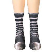 Meias Sock Runners Mens Seasons Personalizado Meias 3D Impressão Animal Pé Do Foot Meias Adult Imprimir Desenhos Animados Tridimensional Sock Moda