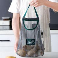 Cocina Jengibre Ajo Cebolla Mano Carrera Fruta Vegetal Almacenamiento Colgante Bolsa Colgando Hueco Productorable Cocina Accesorio Nuevo Venta 140 N2