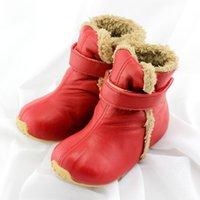 Tipsietoes высочайшее качество натуральная кожа шерсть детская обувь для мальчиков и девочек детей осень зима теплая сапоги 64001 бесплатная доставка 201130