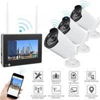 7inch Wireless WiFi NVR-Kamera wasserdichte Nachtsicht Home Security Monitor 110-240V Sicherheitskamera1