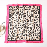 High Quality Silk Scarf Ladies Elegant Small Square Scarf He...
