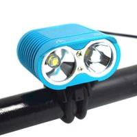 Luzes de bicicleta Wasafire 2 * XM-L2 LED Bicicleta Luz 3000LM Super Brilhante MTB Road Front 4 Modo Ciclismo À Prova D 'Água