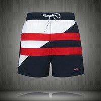 Erkek Tahtası Şort Mayo Yüzmek Şort Plaj Streetwear Yüzme Kısa Pantolon Mayolar Koşu Surfing Şort