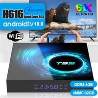1 Piece! T95 Android 10.0 TV Box Allwinner H616 4GB+32GB Support 2.4G Wifi 6K Caja de tv android PK X96 Air