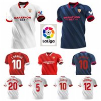 Sevilla 2020 Sevilla 2021 5 OCAMPOS Jersey Fútbol 16 NAVAS EVER Kits camisa BANEGA DE JONG EL haddadi TORRES VAZQUEZ Rakitic Koundé Fútbol