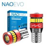 NAOEVO W5W T10 LED 전구 1.8W 자동차 인테리어 조명 12V 슈퍼 밝은 자동 주차 독서 주간은 3030 (3014) 칩 램프 6000K 실행