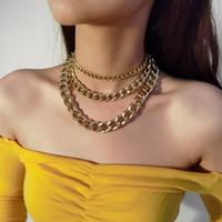 Catene Hip Hop commercio all'ingrosso della collana fuori ghiacciato Miami cubana del braccialetto Chain Rapper Jewelry Dropshipping delle donne
