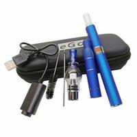 3 in 1 Verdampfer Ecigarette Starter Kit Evod Batterie MT3 Eliquid Globus Glas Wach vor Dry Herb Atomisierer 3 in 1 Vape Stifte