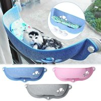 نافذة جبل القط السرير القط أرجوحة كيتي نافذة السرير الحيوانات الأليفة مقعد ساحة المتسكع أريكة مع 3 كؤوس شفط كبيرة 15KG تحميل الحمل