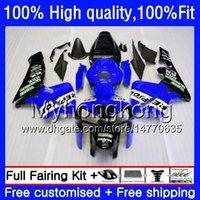 Stampo ad iniezione per Honda CBR600RR CBR 600RR 600F5 600CC F5 05 06 48hm.0 CBR600 RR CBR600F5 CBR 600 CC RR 2005 2006 carenatura OEM blu repsol