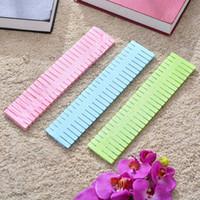 Plastik Çekmece fıçı tahtası Ayarlanabilir Ev Organizatör Depolama DIY fıçı tahtası Bağlar Çorap Sütyen İç Depolama Çekmece Bölücü 32 * 7cm HHA1620