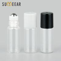 50 шт. / Лот 3 мл мини пополняемых парфюмерных бутылок эфирные масла флакон пустой выборки