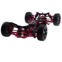 1/10 Alaşım Karbon Sakura D4 RWD Drift Yarış Araba Şasi Çerçeve Vücut Kiti # Kit-D4RWD Sürüklenme Yarışı Araba Çerçevesi Vücut Kiti RC Araba