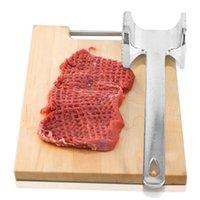 도매 고기 Tenderizer 망치 금속 알루미늄 합금 스테이크 파운드 쇠고기 돼지 고기 치킨 송아지 가금류 주방 도구 고기 망치 DBC BH0559