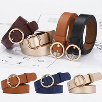 Women Belt Classic Fashion Solid Genuine Leather Waistband W...