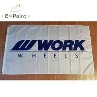 Japan Arbeitsräder Flagge hergestellt in Japan Zeichen 3 * 5ft (90 cm * 150 cm) Polyester Flagge Banner Dekoration Fliegen Home Garten Flagge Festliche Geschenke