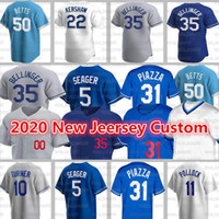 Los Angeles Jerseys Dodgers 50 Mookie Betts Men Baseball 22 Clayton Kershaw Custom 35 Cody Bellinger 31 Joc Pederson Seaver Ross Strylling