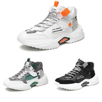 Top Non-Brand Platform Men Plus Zapatos de cachemira Black White Orange Grey Grey Moda al aire libre Zapatillas deportivas 39-44