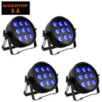9x6w LED Par Işıkları RGBWA UV 6in1 Düz Par LED Can Par 64 LED Bar Işık DJ Düğün Işık Sahne Işık Festivali Dekorasyon