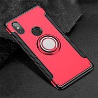 핑거 링 360 Xiaomi MI 믹스 2S 믹스 2에 대한 핑거 링 360 완전 보호 케이스 Xiaomi MI Note 3 Max 3 A1 A2 Xiaomi Mi 6 Mi8 용 커버 케이스