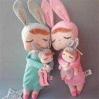 42 см подлинный оригинал Новое поступление Прекрасная мету кролика кукла чучело мягкие плюшевые игрушки для детей подарок 201214