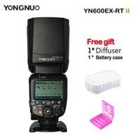 YONGNUO YN600EX-RT II Flash Flash Speedlite 2.4G Wireless HSS 1 / 8000S Masterl Speedlight per fotocamera DSLR YN-E3-RT AS 600EX-RT1