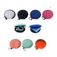 Neopren Yüz Maskeleri Çanta Moda Fonksiyonlu Kulaklık Para Çantası Katı Renk Renkli Taşınabilir facemasks Değişim Cüzdanlar Çanta Totes F102201