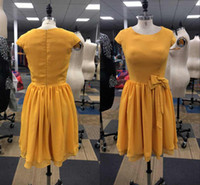 Real pics Short Aline Chiffon Cocktail Dresses Custom Made J...