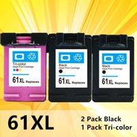 Cartouches d'encre 61XL Compatible pour la cartouche 61 xl Envy 5530 Deskjet 2540 1050 2050 2510 3050 3054 3000 1000 Imprimante