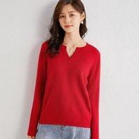 Maglione di Natale a maglia di lana 100% da donna Maglia natale femminile Soft Jumper caldo vintage manica lunga maglione sexy rosso beige grigio1
